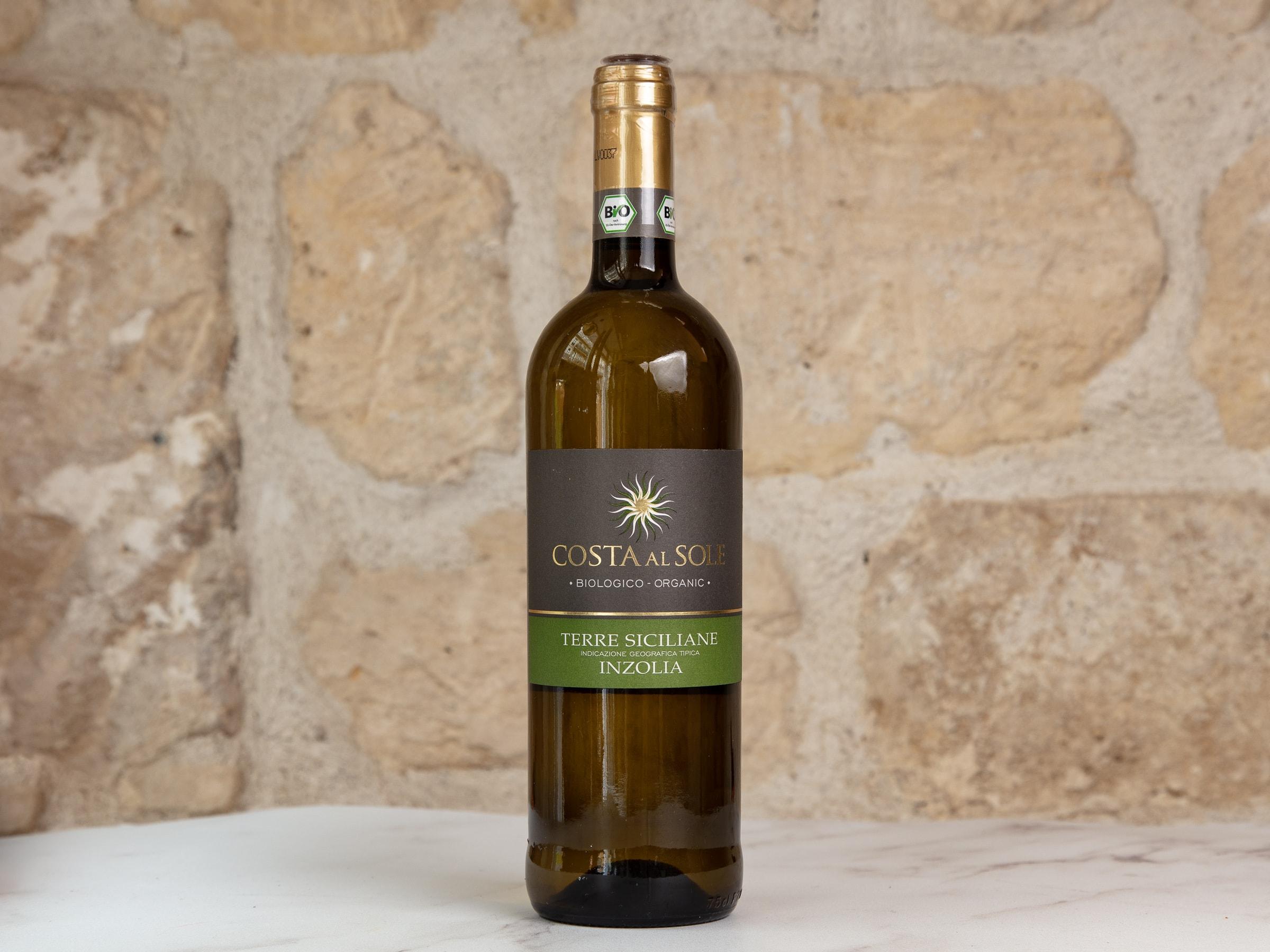 Vin blanc Inzolia
