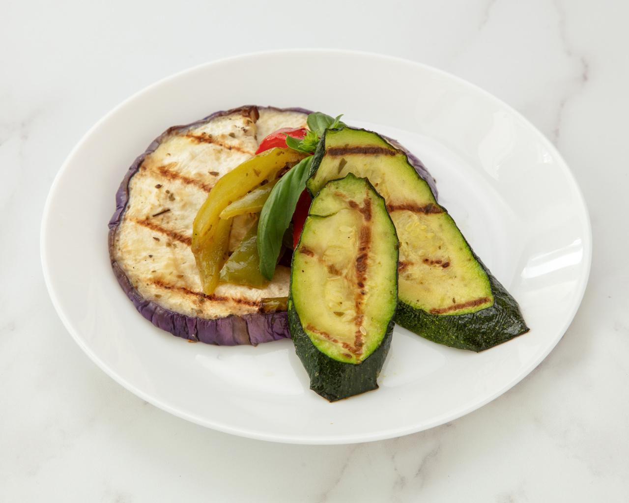 légumes grillées siciliens