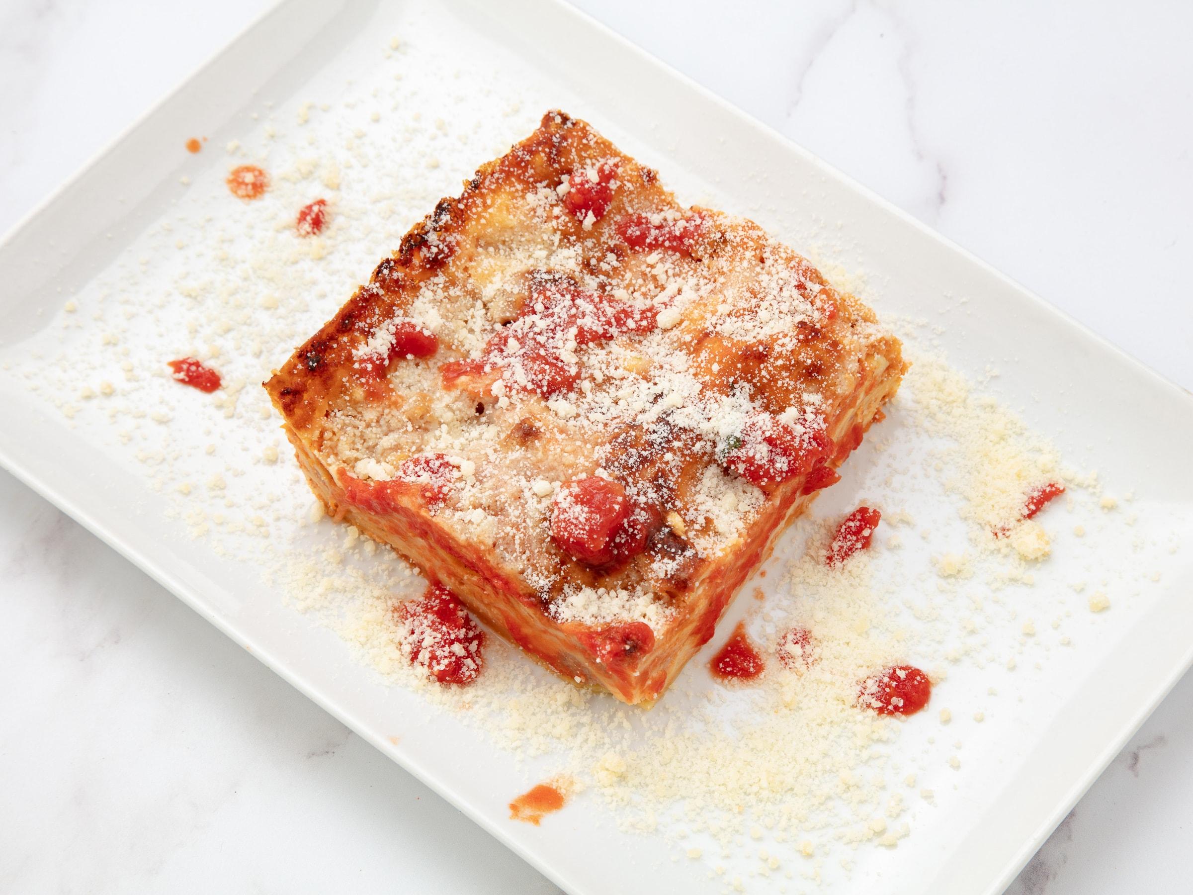 gratinées lasagne bolognaise