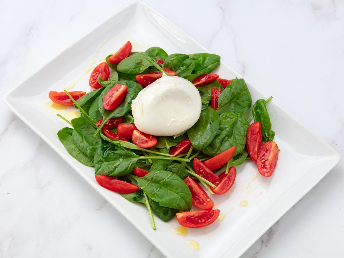 salade italienne caprese bufala