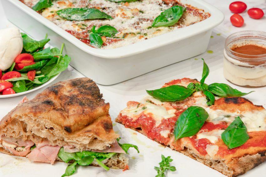 traiteur italien focaccia et pizza à la coupe